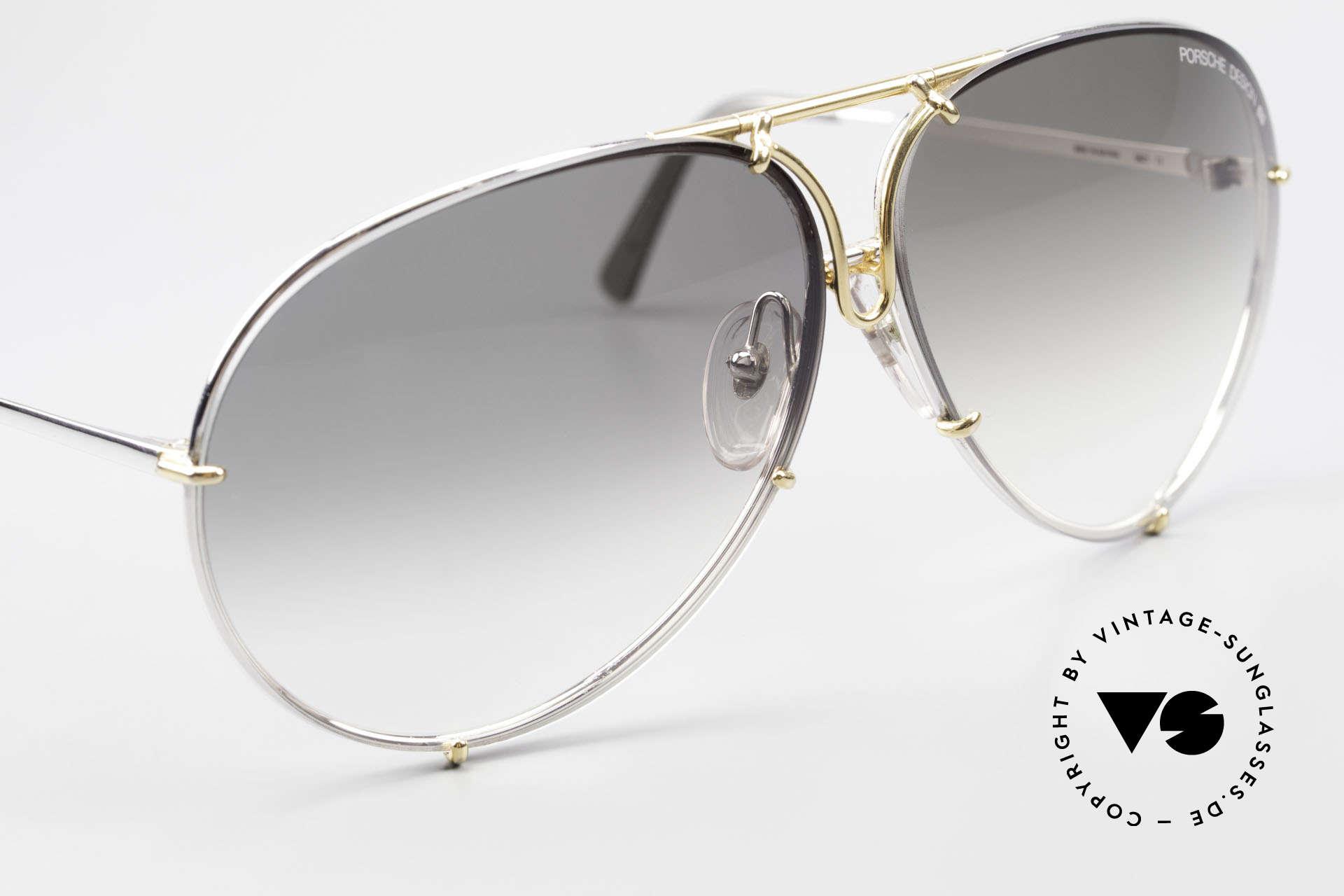Porsche 5621 1980er Sonnenbrille Bicolor, ungetragene 80er Rarität und KEINE RETRO-Brille!, Passend für Herren