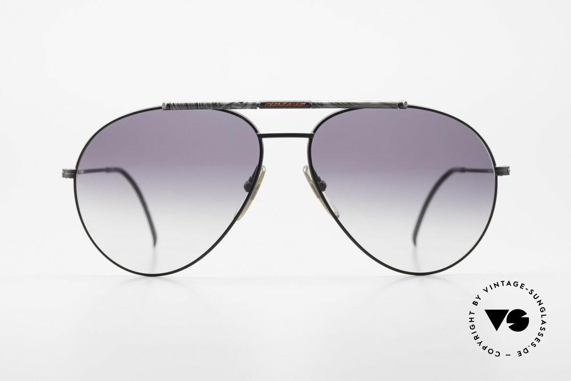 Boeing 5706 80er Aviator Sonnenbrille XL, eigens für Boeing-Piloten gefertigte Sonnenbrille, Passend für Herren