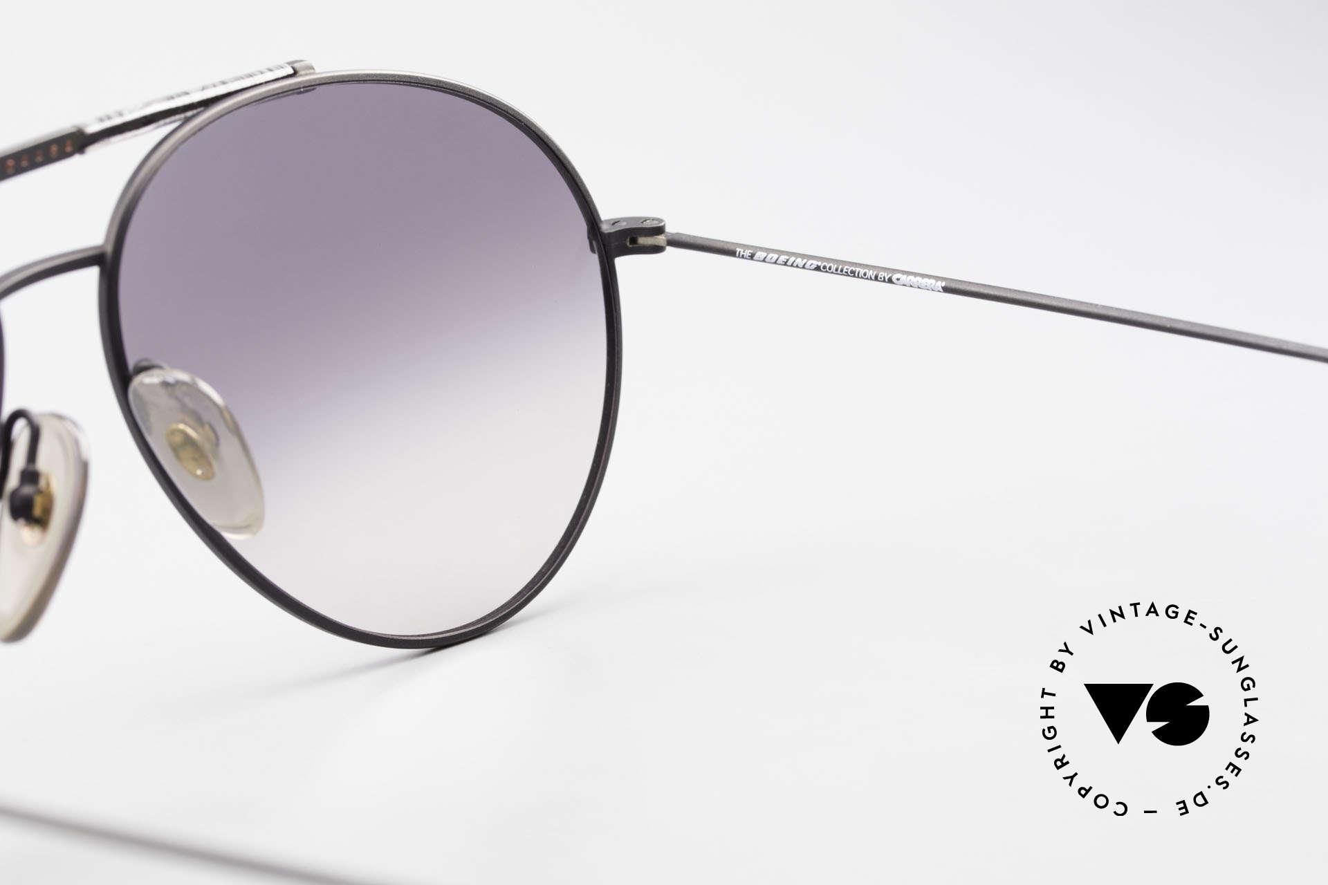 Boeing 5706 80er Aviator Sonnenbrille XL, KEINE Retro-Sonnenbrille; ein kostbares ORIGINAL, Passend für Herren