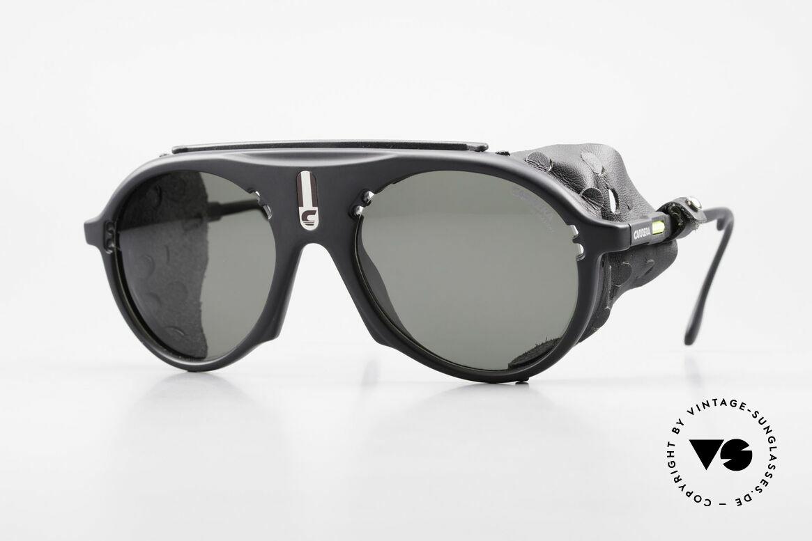 Carrera 5436 Gletscher Brille Water & Ice, vintage Sportbrille bzw. Gletscherbrille von CARRERA, Passend für Herren