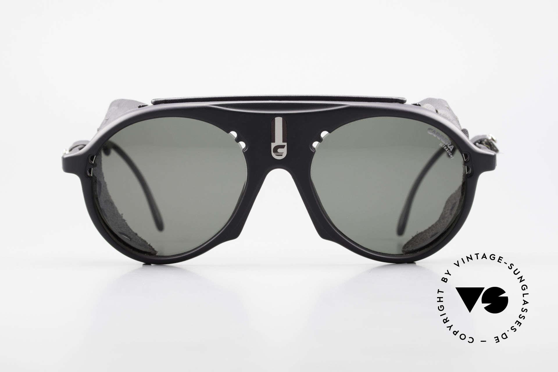 Carrera 5436 Gletscher Brille Water & Ice, konzipiert für den hochalpinen Einsatz & Wassersport, Passend für Herren