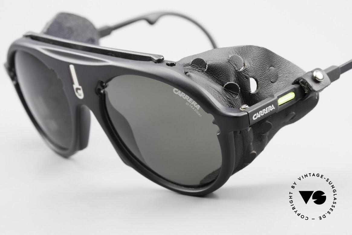 Carrera 5436 Gletscher Brille Water & Ice, hochwertige ULTRASIGHT Gläser (100% UV Protection), Passend für Herren