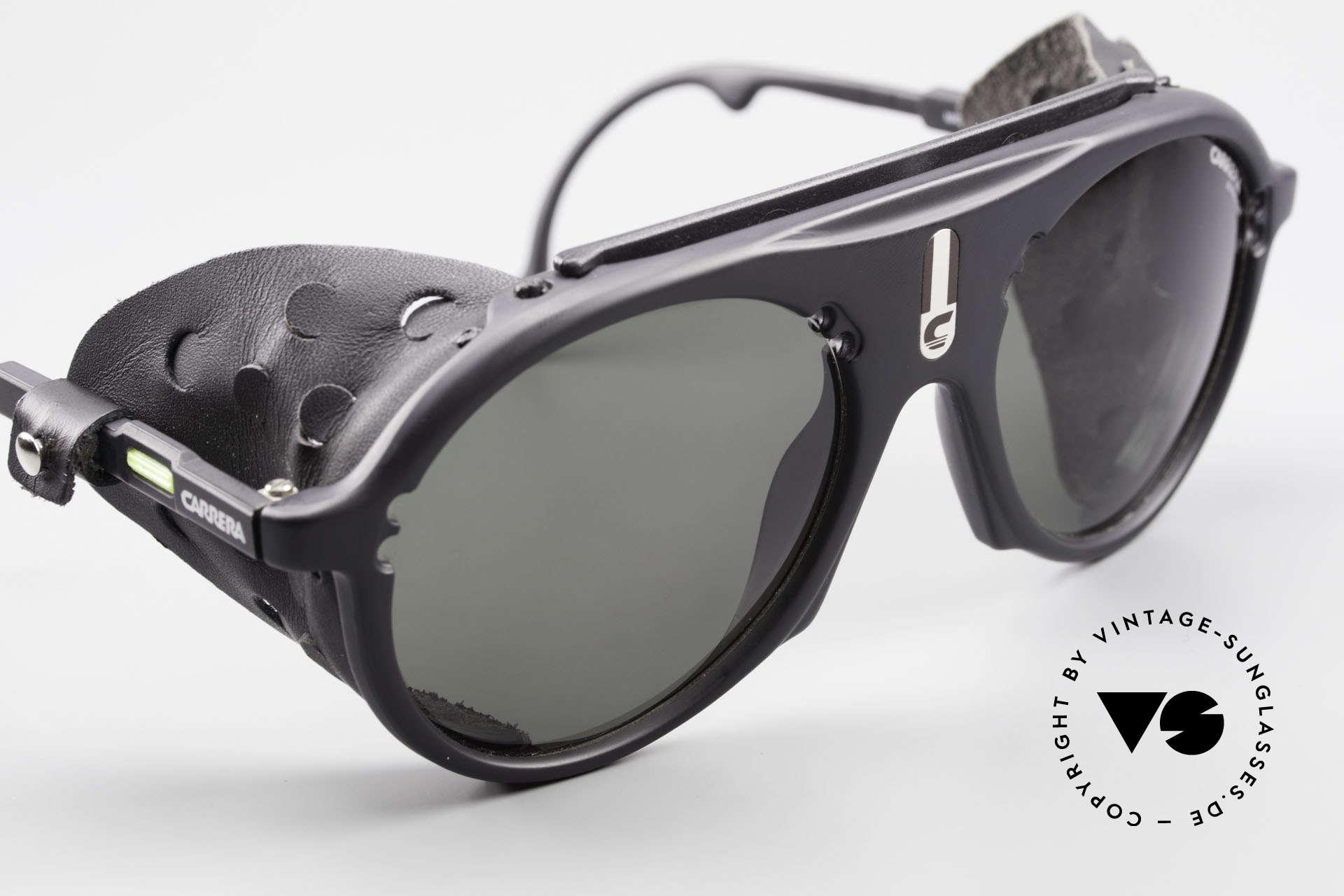 """Carrera 5436 Gletscher Brille Water & Ice, unbenutzt und auch als """"normale"""" Sonnenbrille tragbar, Passend für Herren"""