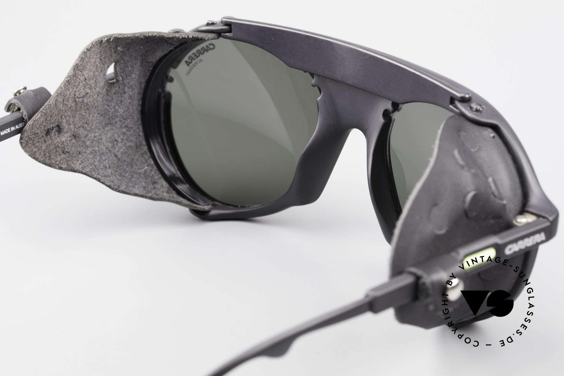 Carrera 5436 Gletscher Brille Water & Ice, KEINE Retrosonnenbrille; sondern ein 1980er Original!, Passend für Herren