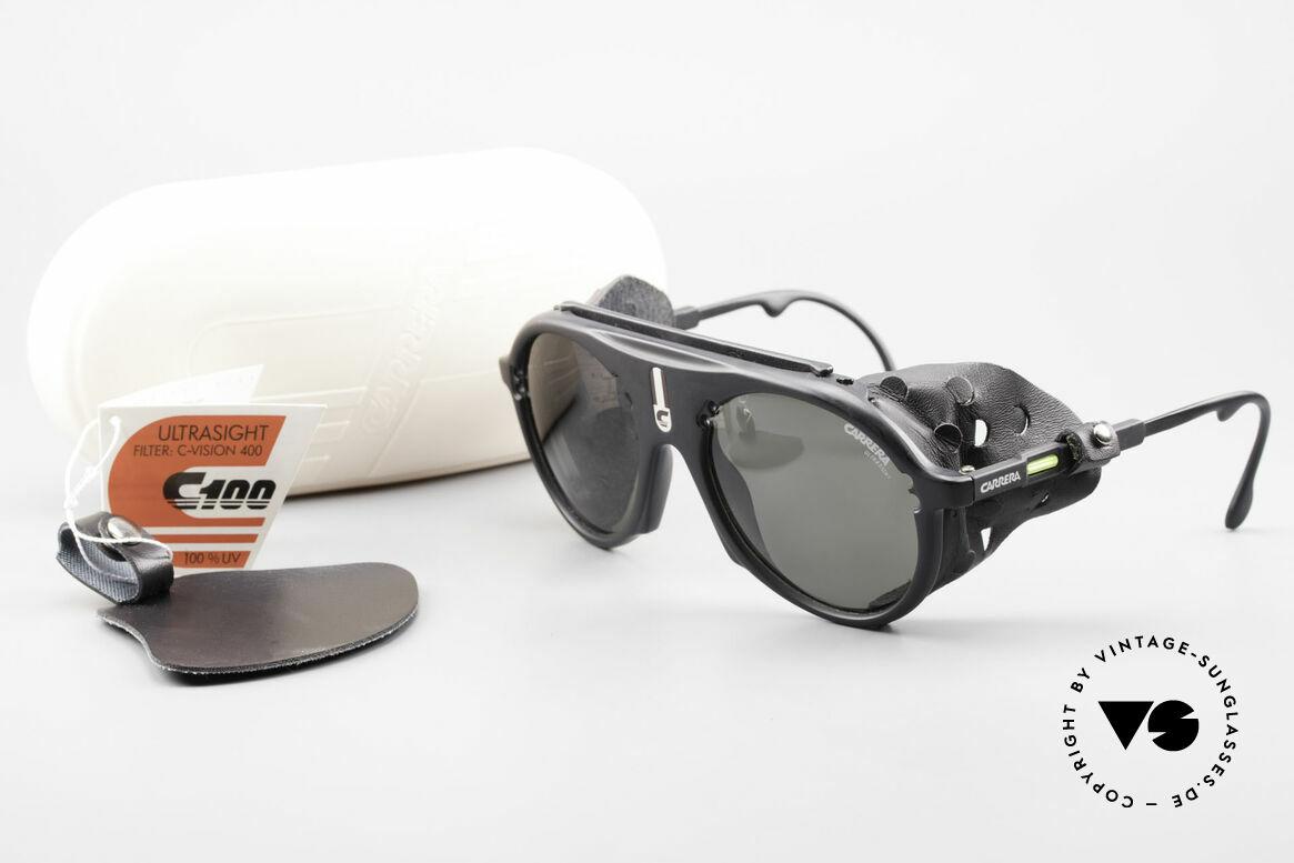 Carrera 5436 Gletscher Brille Water & Ice, Größe: extra large, Passend für Herren