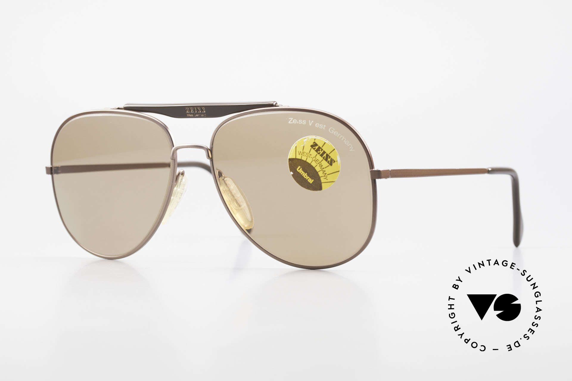 Zeiss 9337 Zurück in die Zukunft Brille, Zeiss Sonnenbrille Modell 9337 aus dem Jahre 1983, Passend für Herren