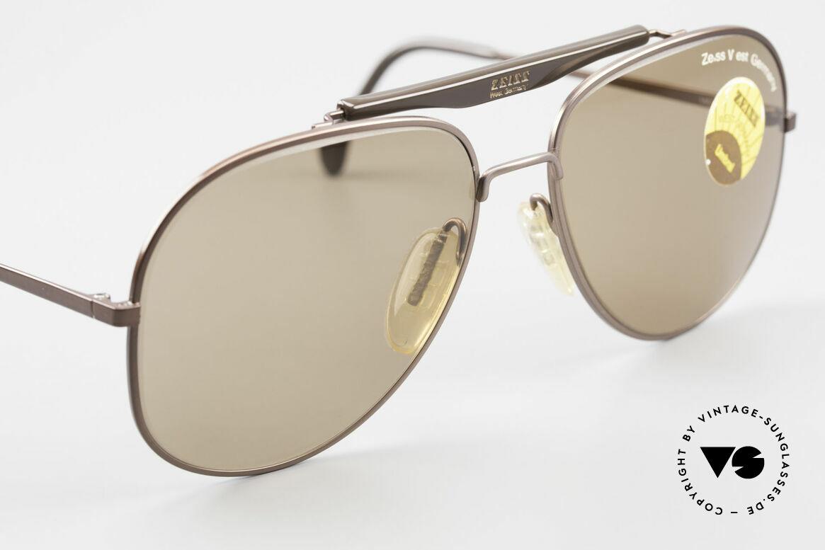 Zeiss 9337 Zurück in die Zukunft Brille, ungetragenes Sammlerstück (ein Stück Kinogeschichte), Passend für Herren
