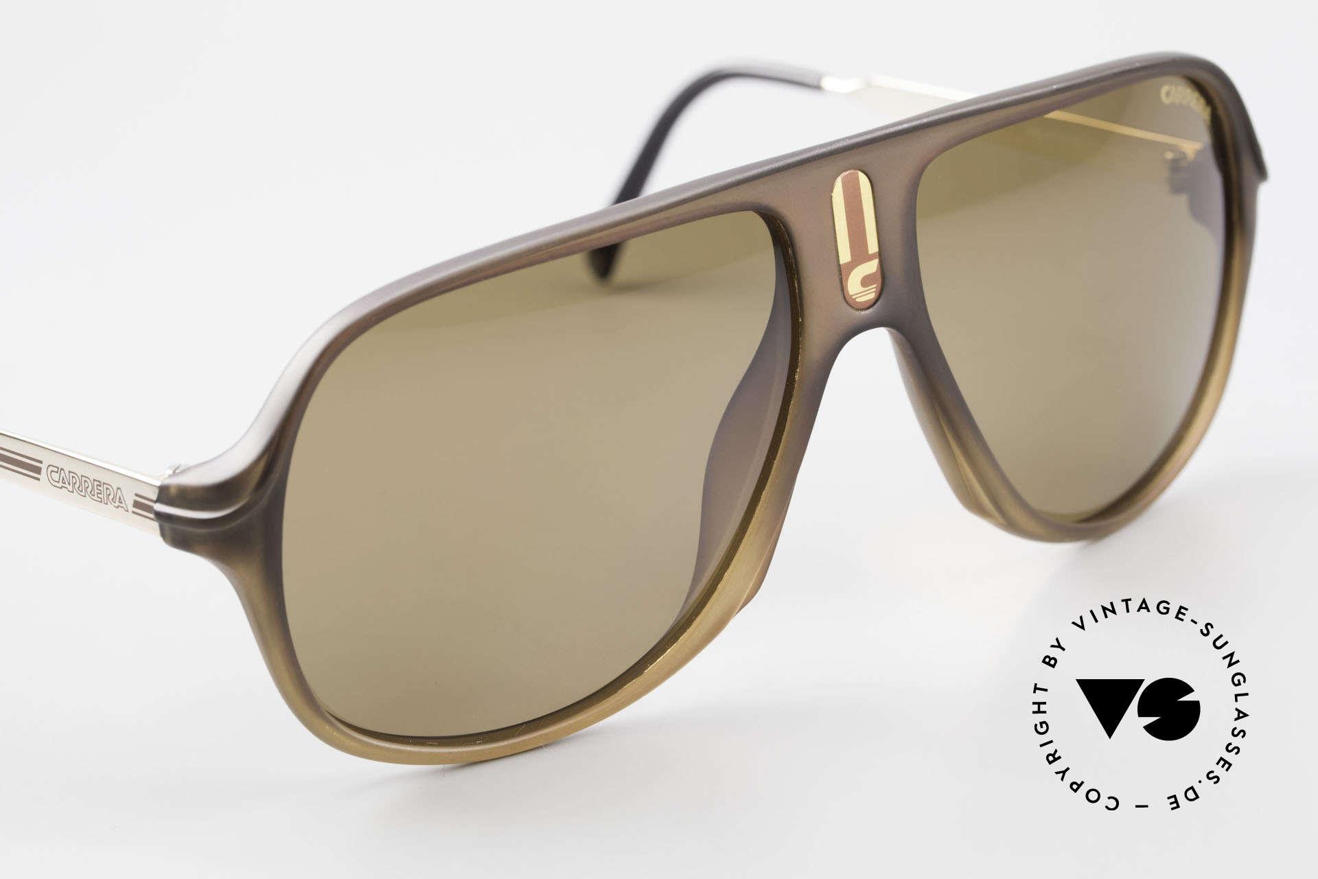 Carrera 5547 Polarisierende Sonnenbrille, KEINE Retrosonnenbrille; ein vintage 80er Original!, Passend für Herren