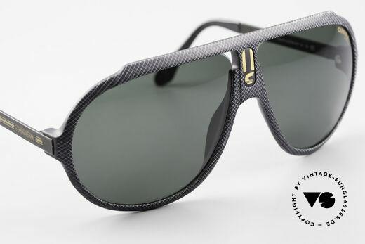 Carrera 5512 80er Kult Brille Miami Vice, KEINE RETROBRILLE, sondern ein altes 80er ORIGINAL, Passend für Herren
