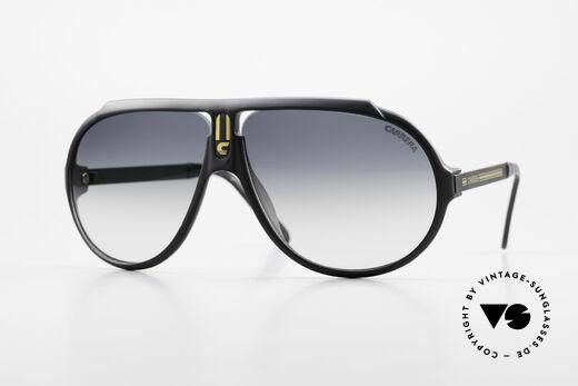 Carrera 5512 80er Kultbrille True Vintage Details