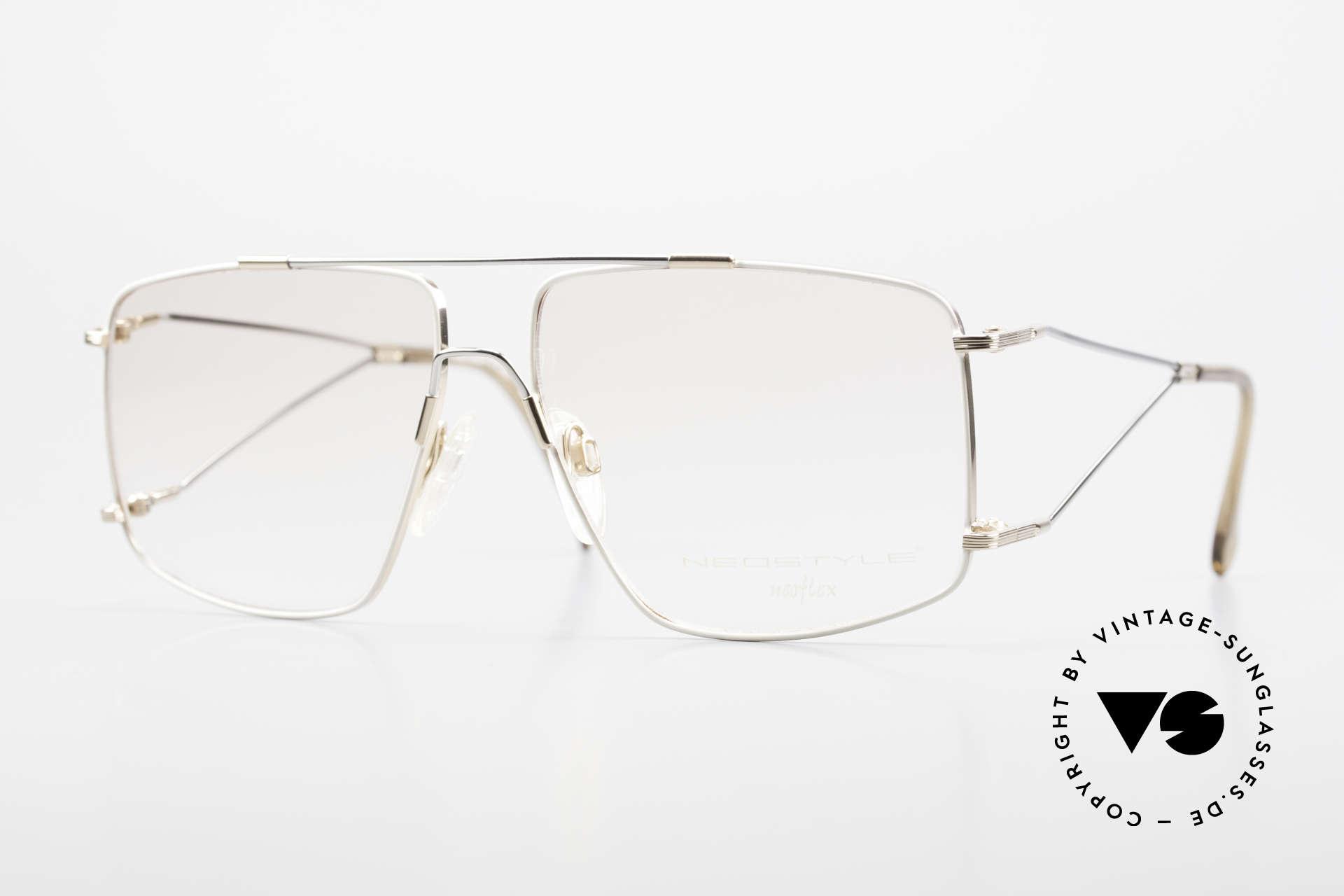 Neostyle Jet 40 Titanflex Vintage 90er Brille, sensationelle vintage NEOflex Brille von NEOSTYLE, Passend für Herren