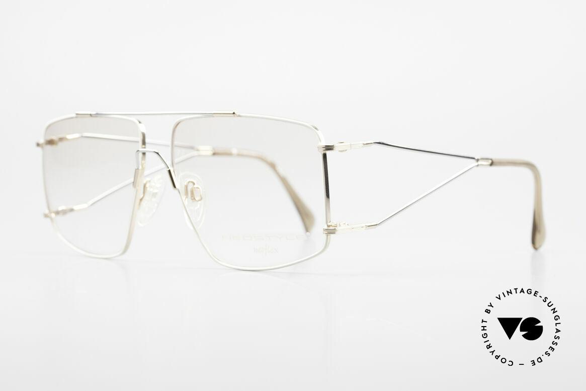 Neostyle Jet 40 Titanflex Vintage 90er Brille, TITAN-FLEX ist unglaublich robust und sehr leicht, Passend für Herren
