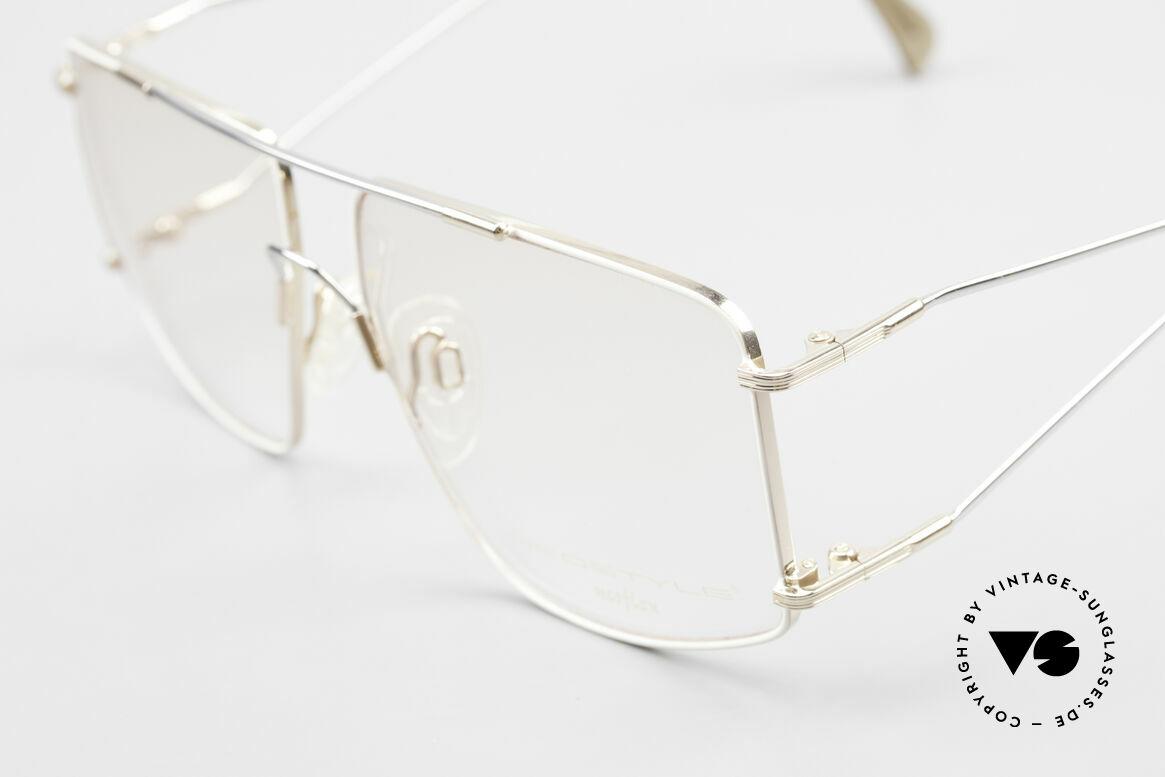 Neostyle Jet 40 Titanflex Vintage 90er Brille, springt nach Verformung in ursprüngl. Form zurück, Passend für Herren