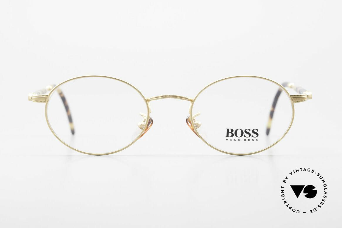 BOSS 5139 Ovale Panto Style Fassung, großartiges ORIGINAL in absoluter Spitzen-Qualität, Passend für Herren und Damen