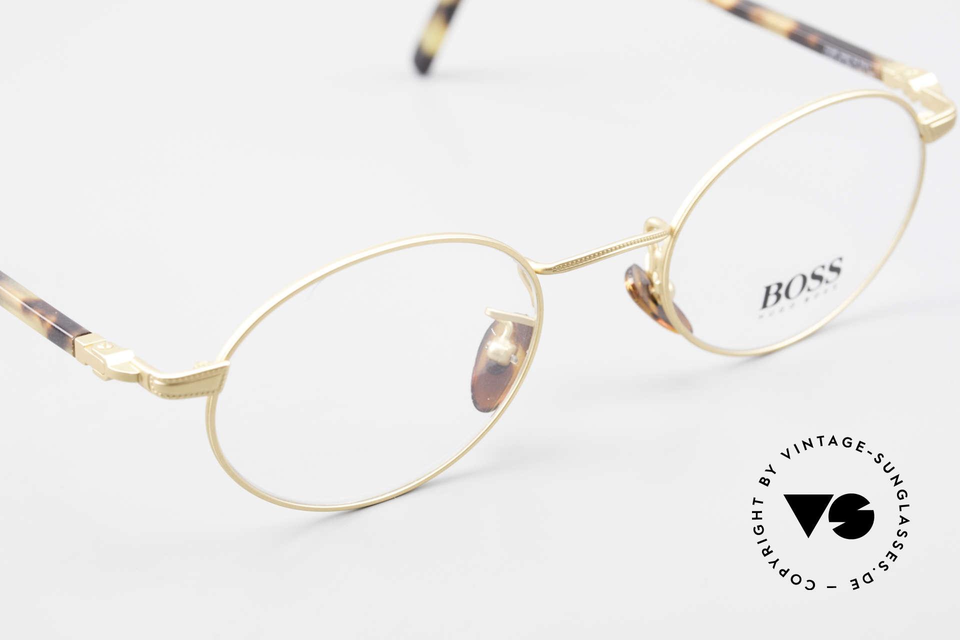 BOSS 5139 Ovale Panto Style Fassung, KEINE Retrobrille; sondern ein echter DesignKlassiker, Passend für Herren und Damen