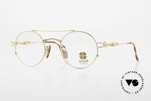Actuell Couture 802 Runde 80er Brille Steampunk Details