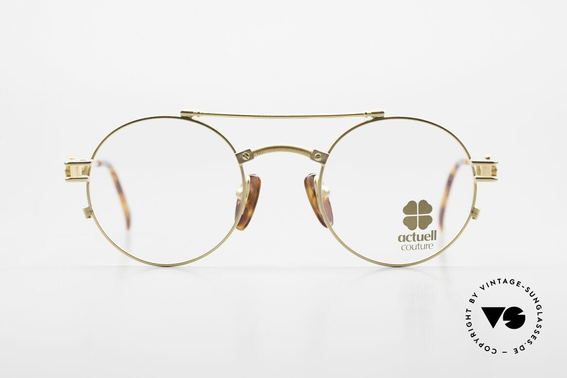 Actuell Couture 802 Runde 80er Brille Steampunk, runde Brille von Actuell Couture, Deutschland, Passend für Herren und Damen