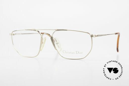 Christian Dior 2819 Echte 90er Herren Metallbrille Details