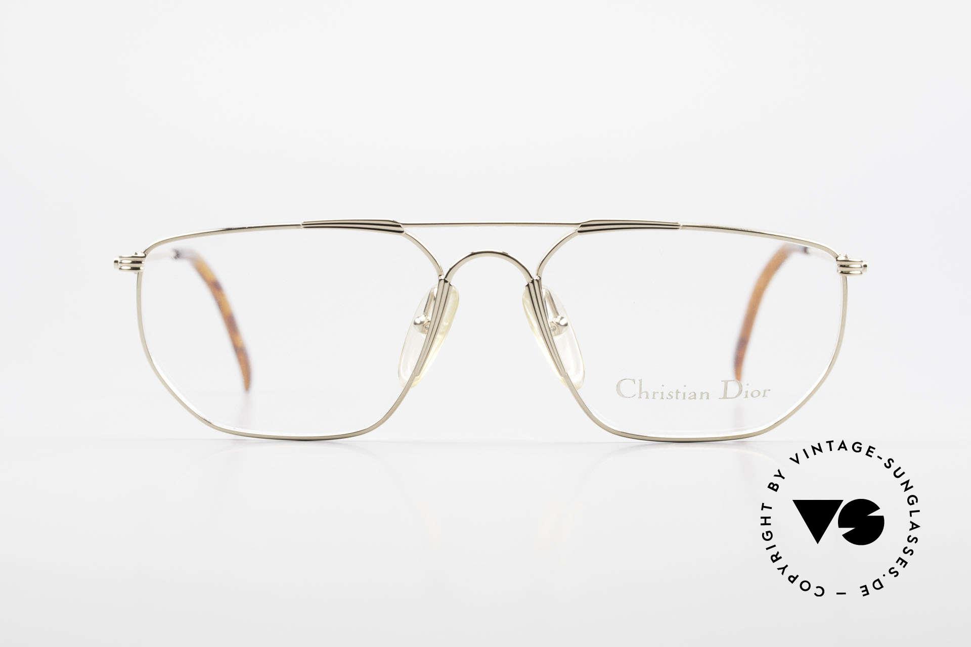 Christian Dior 2819 Echte 90er Herren Metallbrille, sehr edel & absolute Top-Qualität (muss man fühlen!), Passend für Herren