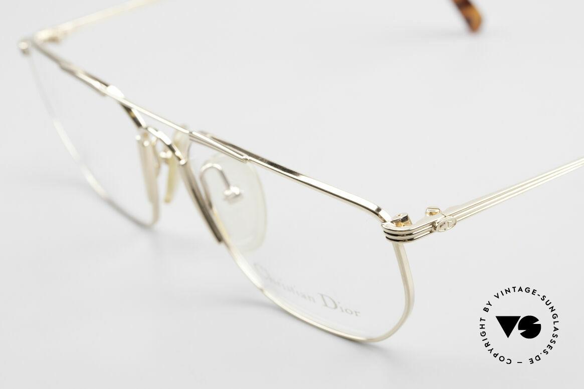Christian Dior 2819 Echte 90er Herren Metallbrille, ungetragen (wie alle unsere Designer-Metallbrillen), Passend für Herren