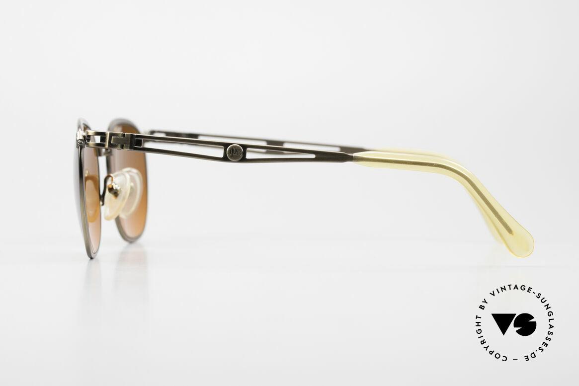 Jean Paul Gaultier 56-2177 Sunset Gläser in Orange Verlauf, ungetragen; wie alle unsere vintage JPG Sonnenbrillen, Passend für Herren und Damen
