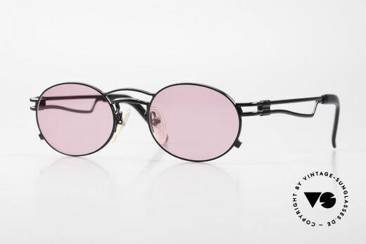 Jean Paul Gaultier 56-3173 Pinke Ovale Vintage Brille Details