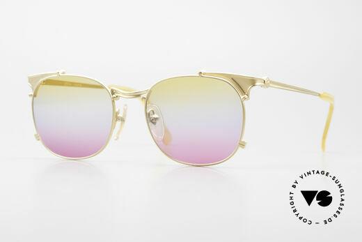 Jean Paul Gaultier 56-2175 Gläser in gelb pink Verlauf Details
