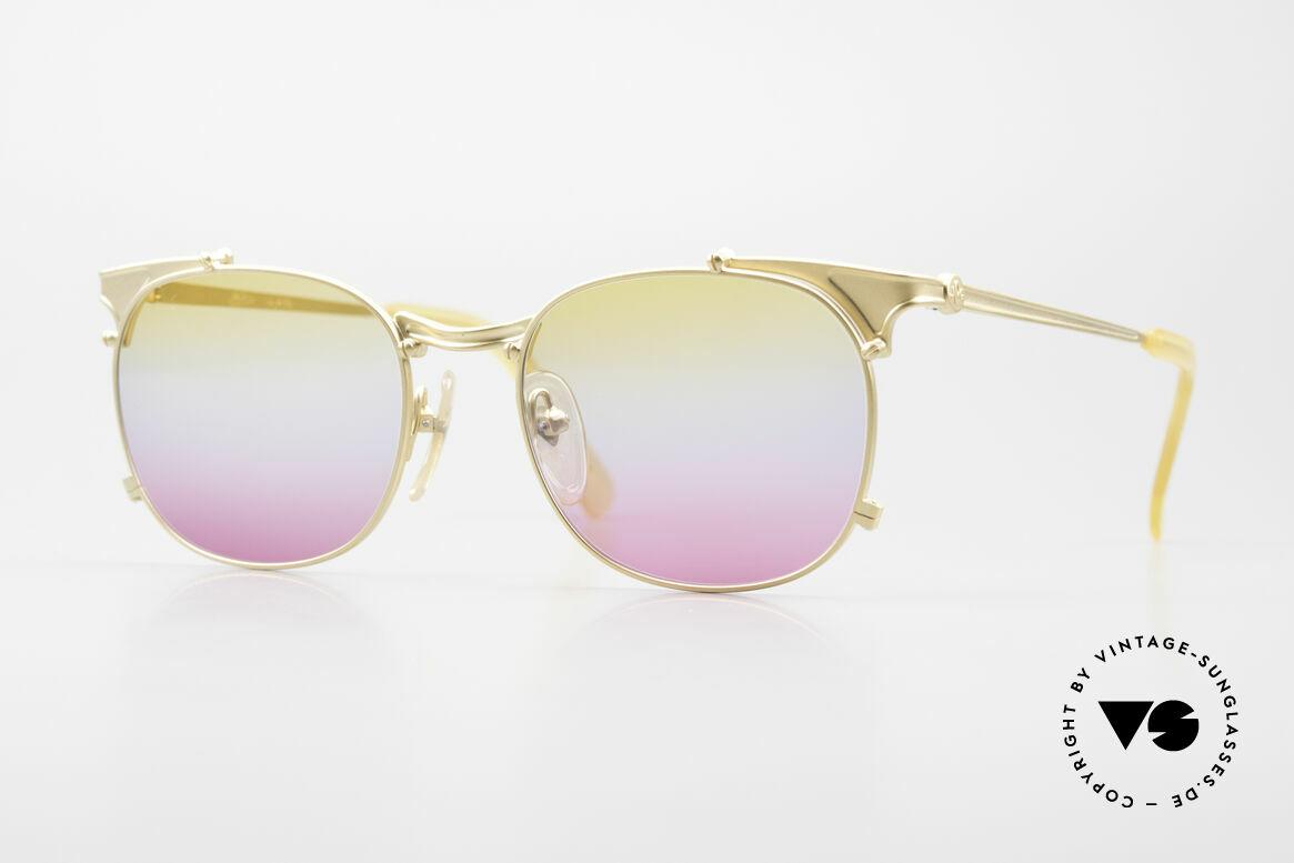 Jean Paul Gaultier 56-2175 Gläser in gelb pink Verlauf, rare vintage JEAN PAUL GAULTIER Sonnenbrille, Passend für Herren und Damen