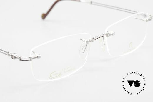 Aigner EA498 Randlose Vintage Brille 90er, KEINE RETROBRILLE, ein circa 25 Jahre altes ORIGINAL, Passend für Herren und Damen