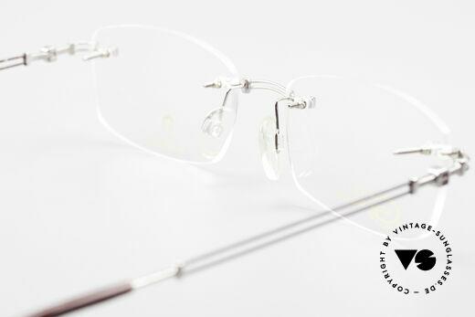 Aigner EA498 Randlose Vintage Brille 90er, Größe: medium, Passend für Herren und Damen