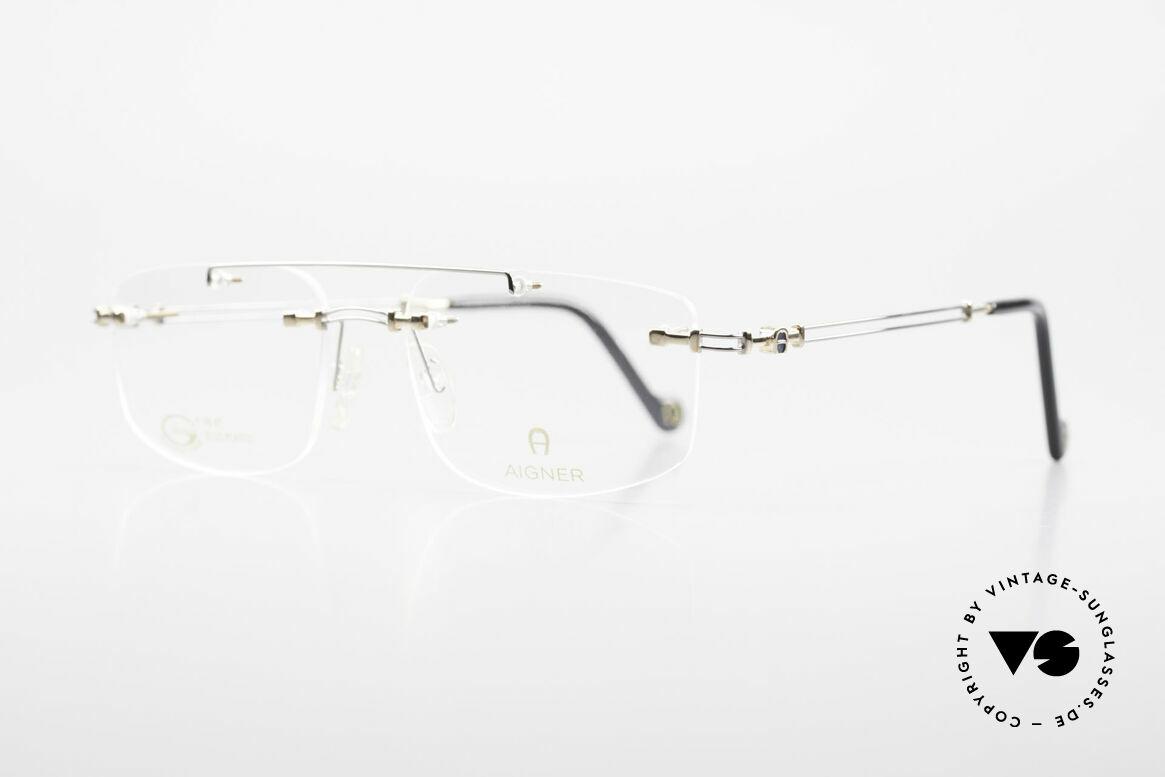 """Aigner EA499 Randlose Vintage Brille Herren, Markenbrille, wirklich noch """"made in Germany"""" Qualität, Passend für Herren"""