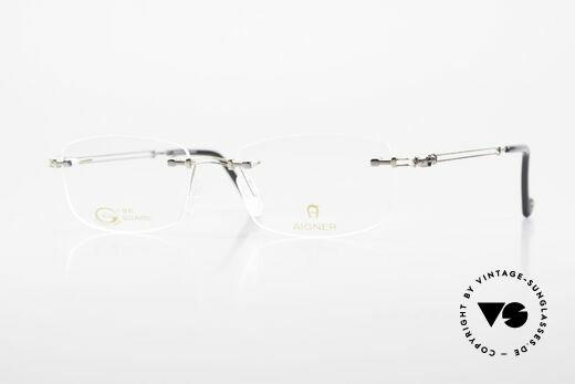Aigner EA498 Randlose 90er Brille Unisex Details