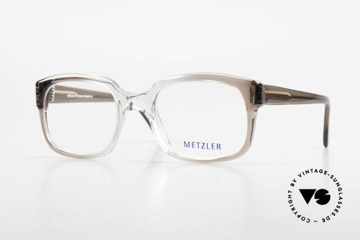 Metzler 7665 Small 80er Jahre Old School Brille Details