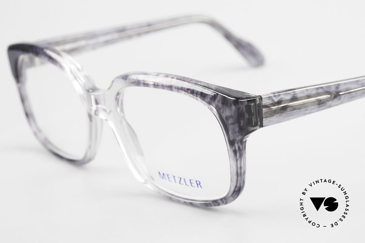 """Metzler 7665 Medium 90er Jahre Old School Brille, ungetragen; wie all unsere Metzler """"Nerd"""" Brillen, Passend für Herren"""