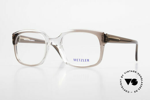 Metzler 7665 Medium Old School Brille 80er Jahre Details