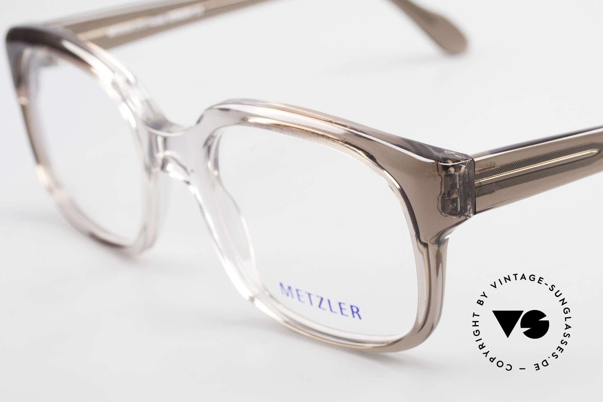 """Metzler 7665 Medium Old School Brille 80er Jahre, ungetragen; wie all unsere Metzler """"Nerd"""" Brillen, Passend für Herren"""