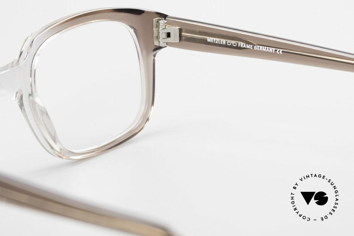 Metzler 7665 Medium Old School Brille 80er Jahre, Größe: medium, Passend für Herren
