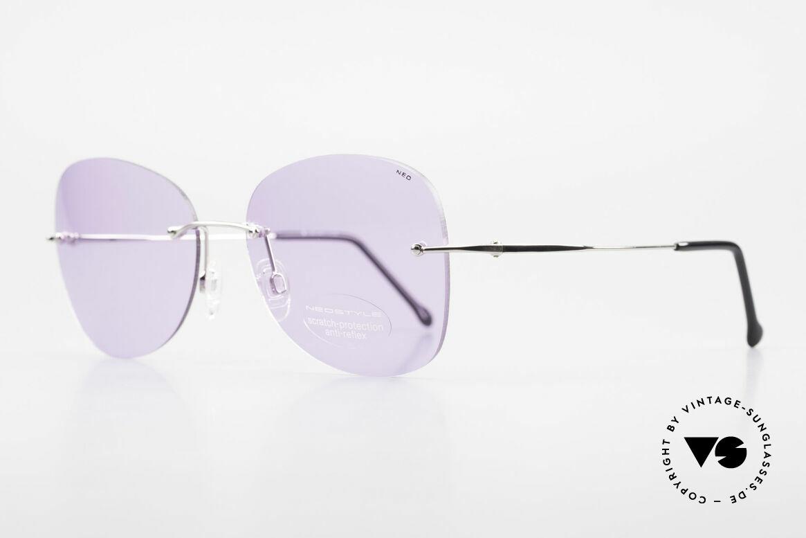 Neostyle Holiday 2051 Randlose Sonnenbrille Damen, oversized Sonnenbrille = zauberhaftes Modeaccessoire, Passend für Damen
