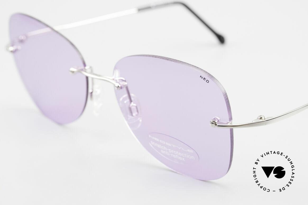 Neostyle Holiday 2051 Randlose Sonnenbrille Damen, zudem Premium-Qualität der 90er (100% UV Schutz), Passend für Damen