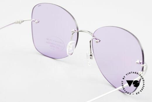 Neostyle Holiday 2051 Randlose Sonnenbrille Damen, KEINE Retromode, sondern ein 90er Jahre ORIGINAL!, Passend für Damen