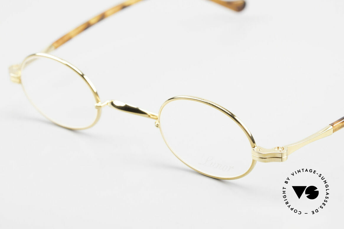 Lunor II A 04 Extra Kleine Brille Oval Vintage, edel, stilvoll, zeitlos = ein wahres LUNOR ORIGINAL, Passend für Herren und Damen