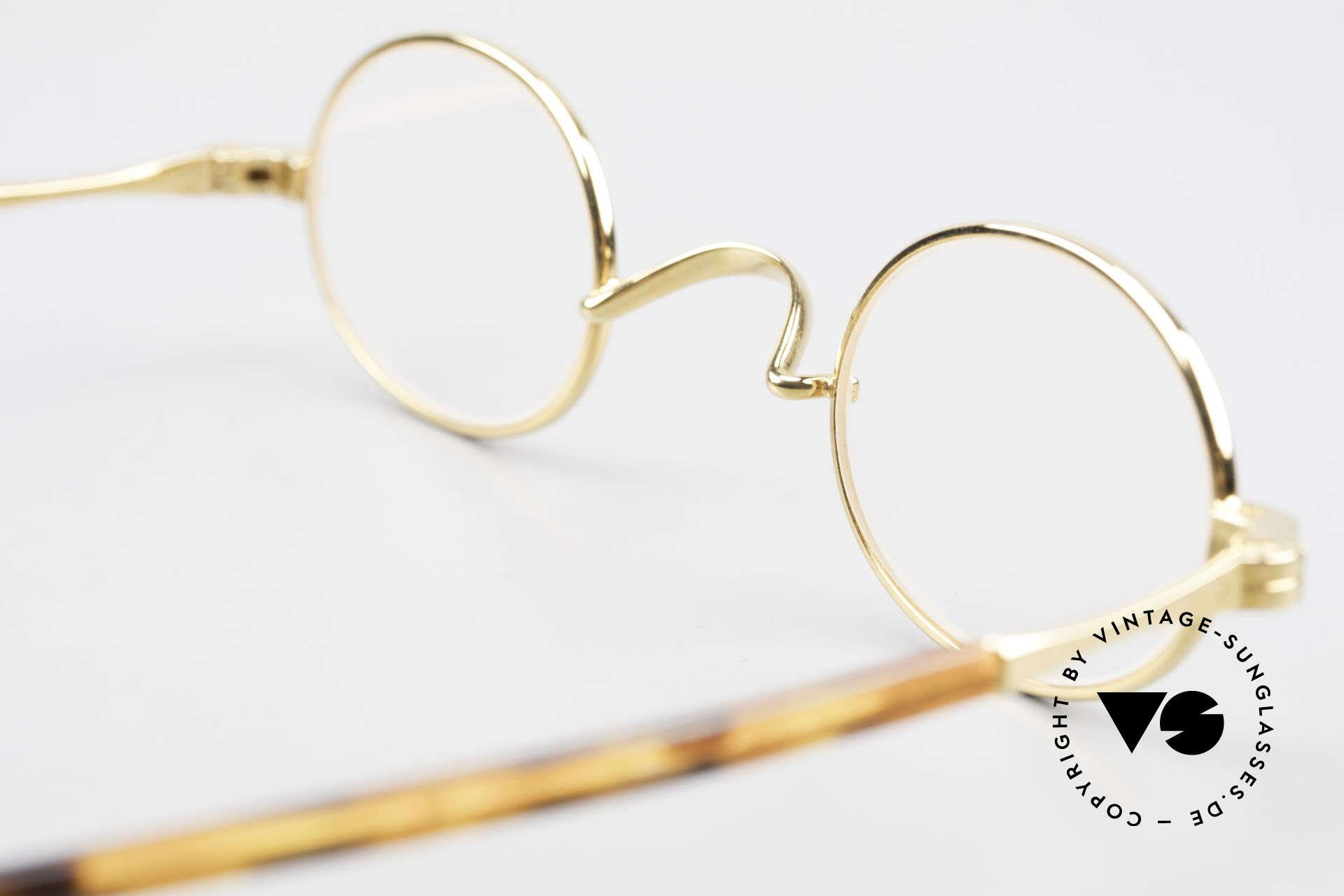 Lunor II A 04 Extra Kleine Brille Oval Vintage, Größe: extra small, Passend für Herren und Damen