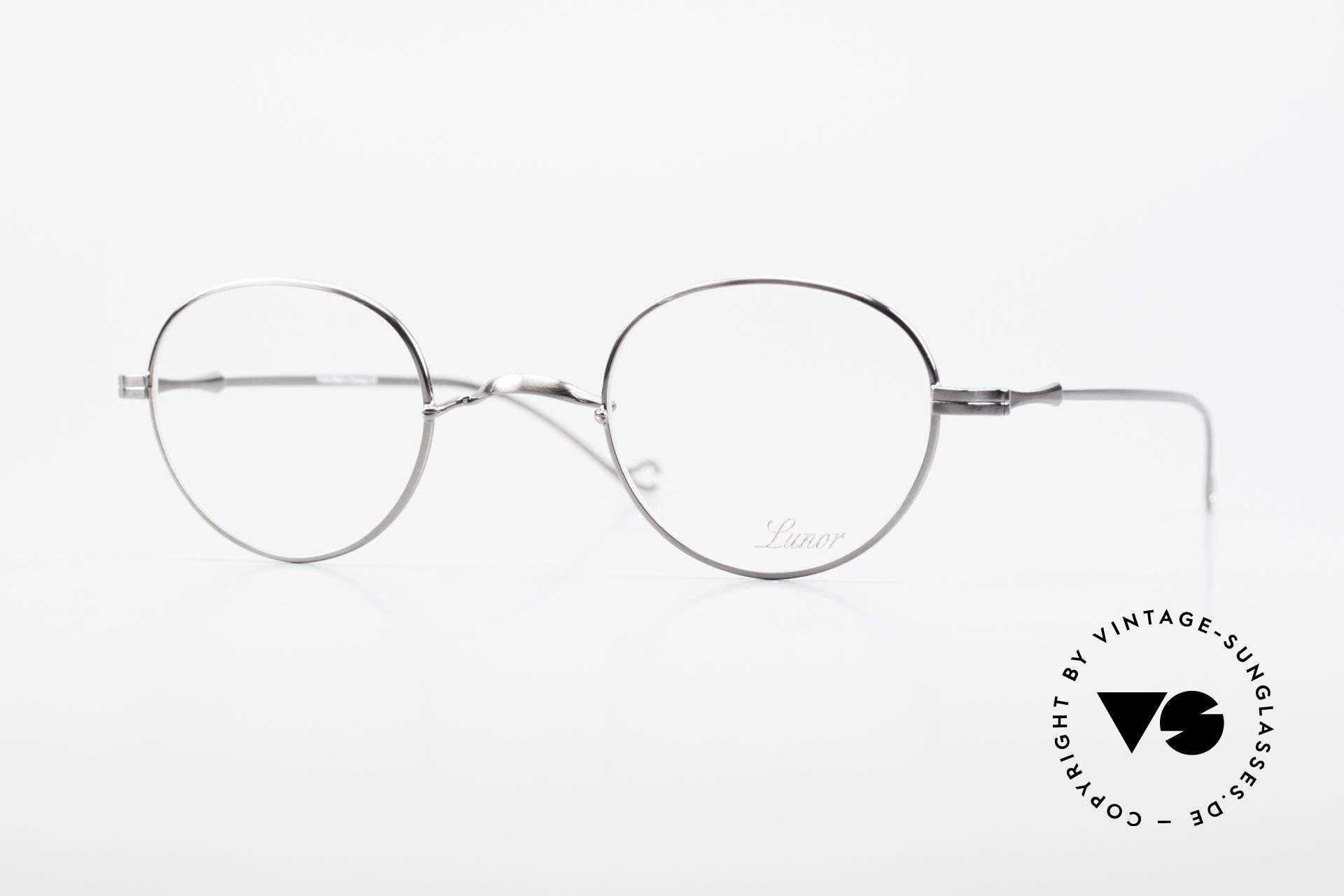 """Lunor II 22 Lunor Brille Special Edition, vintage Lunor Brille aus der alten Lunor """"II"""" Serie, Passend für Herren und Damen"""
