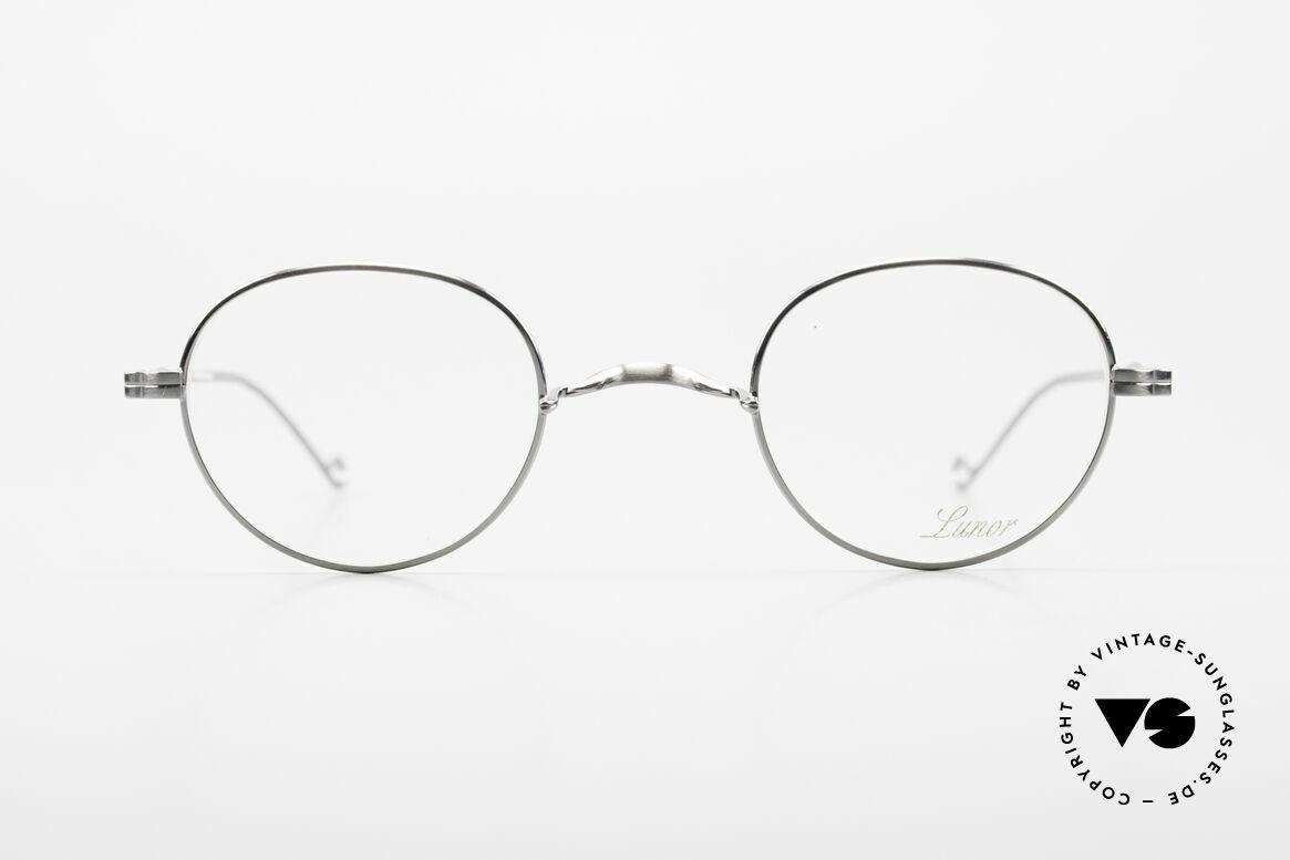 Lunor II 22 Lunor Brille Special Edition, Vollrand-Metallfassung mit hochwertigem Schutzlack, Passend für Herren und Damen