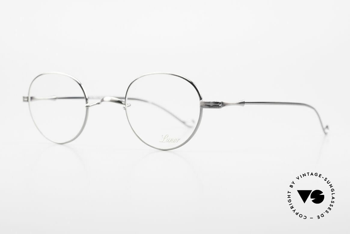 Lunor II 22 Lunor Brille Special Edition, sehr schlichte Form mit W-Steg; SPECIAL EDITION!, Passend für Herren und Damen