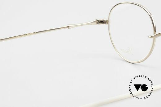 Lunor II 22 Lunor Brille Vergoldet Panto, diese Qualitätsfassung kann beliebig verglast werden, Passend für Herren und Damen