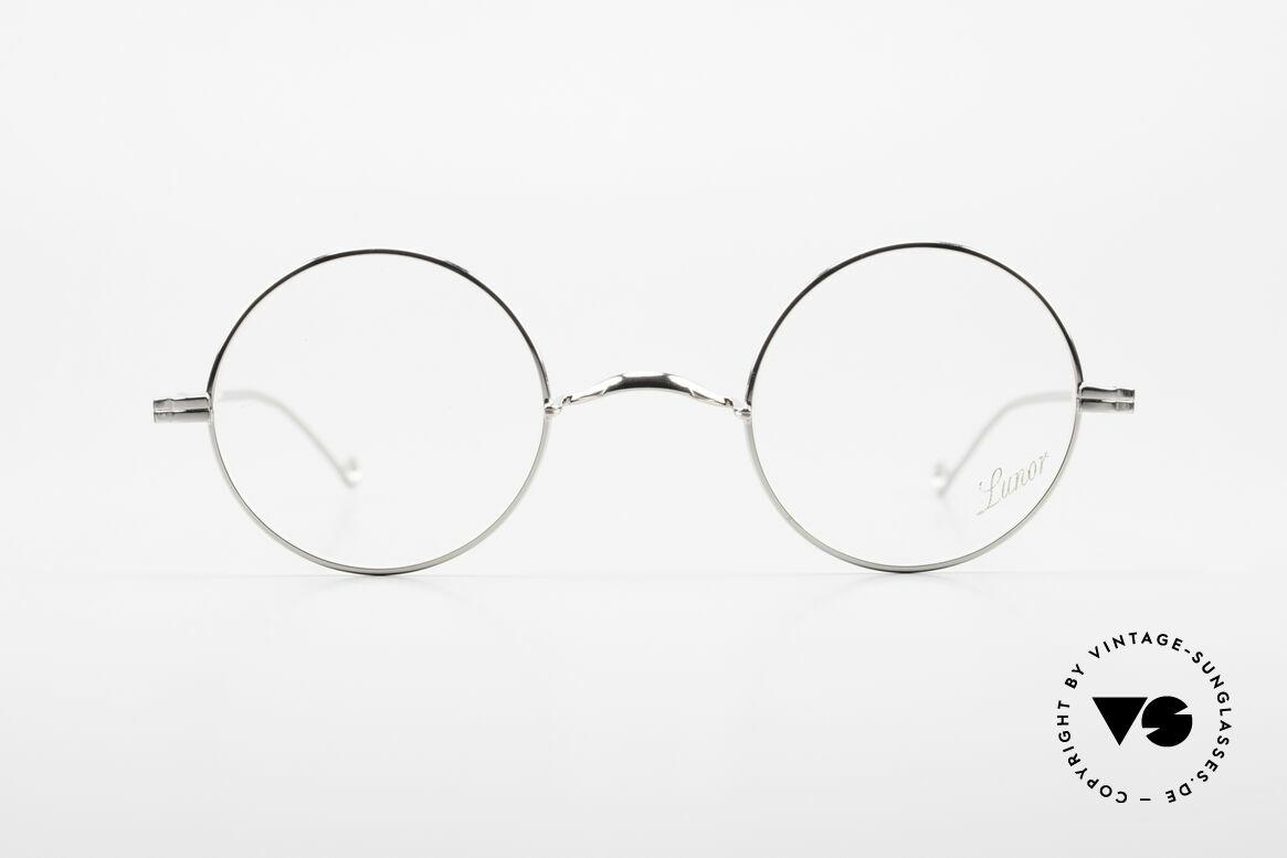 Lunor II 23 Runde Lunor Brille Limited, Vollrand-Metallfassung; limitierte Special Edition, Passend für Herren und Damen