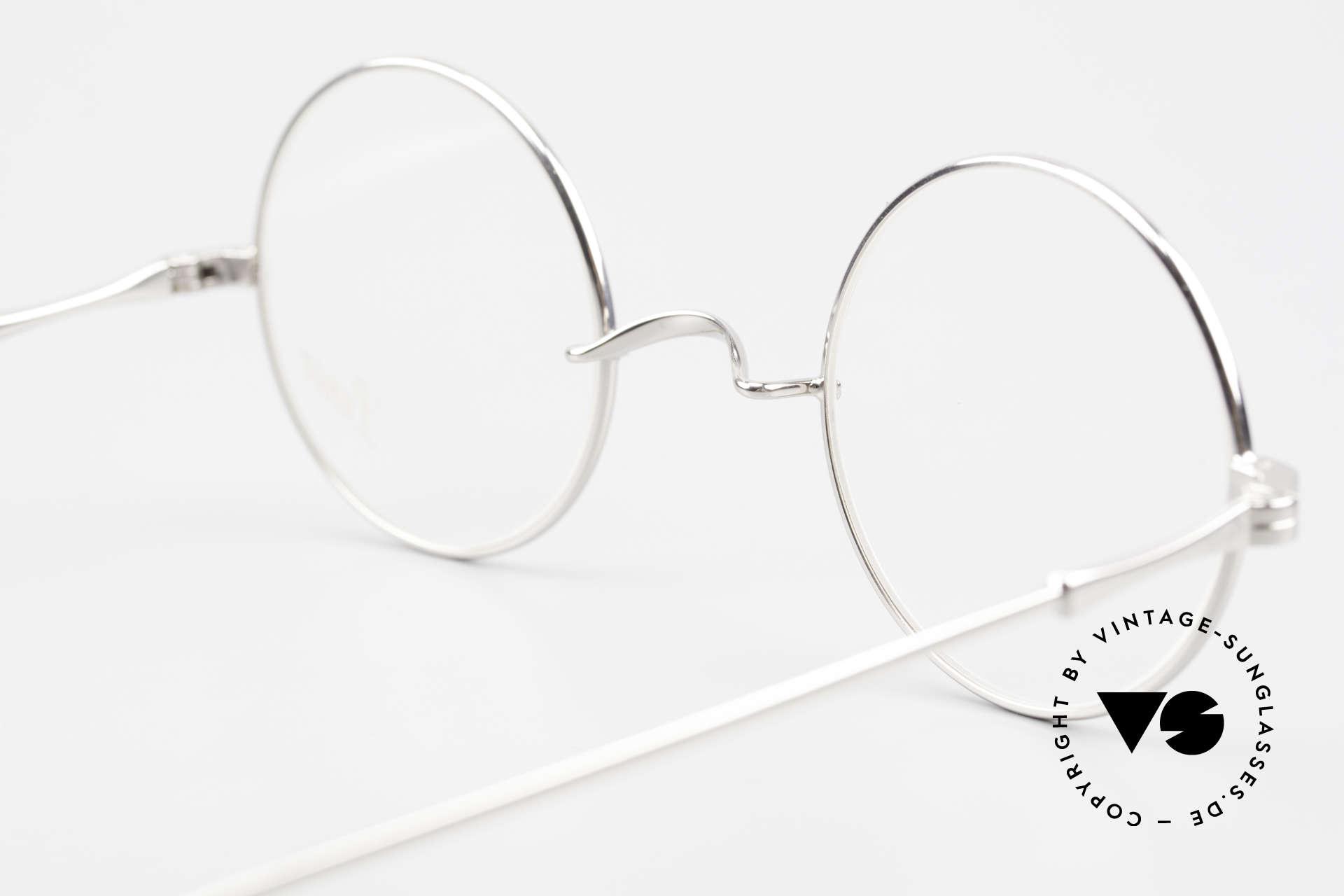 Lunor II 23 Runde Lunor Brille Limited, diese Qualitätsfassung kann beliebig verglast werden, Passend für Herren und Damen