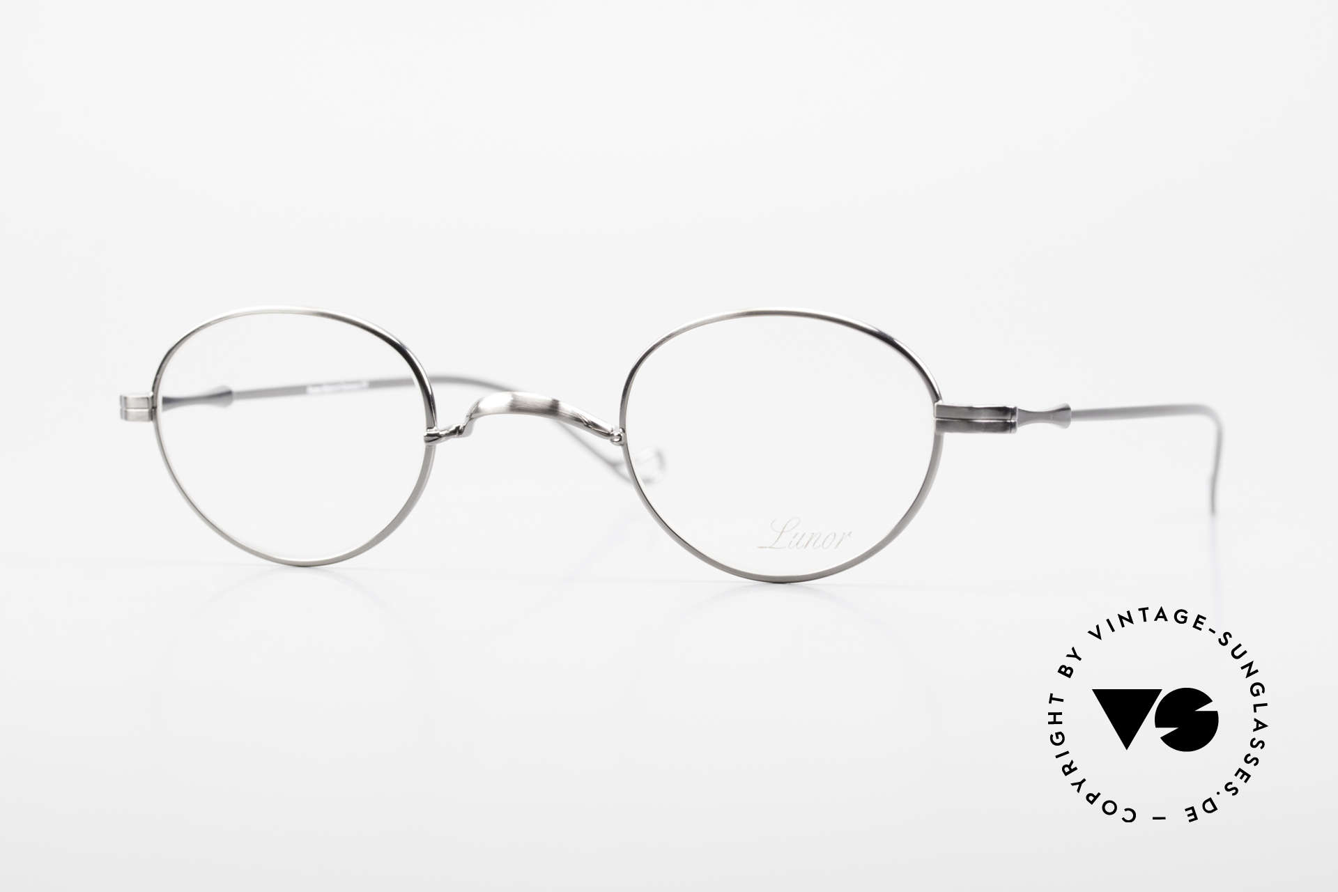 """Lunor II 20 Lunor Brille Klein Unisex 90er, vintage Lunor Brille aus der alten Lunor """"II"""" Serie, Passend für Herren und Damen"""