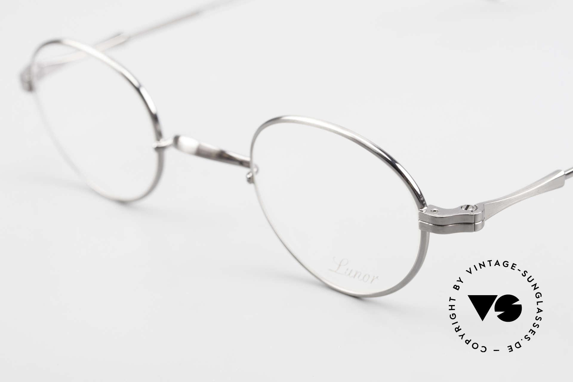 Lunor II 20 Lunor Brille Klein Unisex 90er, edel, stilvoll, zeitlos = ein wahres LUNOR ORIGINAL, Passend für Herren und Damen